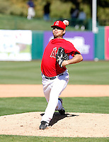 Francisco Rodriguez - Los Angeles Angels - 2009 spring training.Photo by:  Bill Mitchell/Four Seam Images