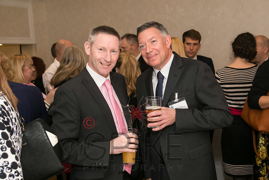 Mark Boardman (left) of BEM Services with David Cracknell of Inter County Services