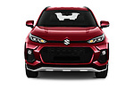 Car photography straight front view of a 2021 Suzuki Across GLX 5 Door SUV Front View