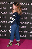 Ella Eyre<br /> arrives for the Maybelline Bring on the Night party at The Scotch of St James, London<br /> <br /> <br /> ©Ash Knotek  D3231  18/02/2017