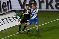 Benjamin Goller (Karlsruher SC) gegen Fabian Holland (SV Darmstadt 98)<br /> <br /> - 26.02.2021 Fussball 2. Bundesliga, Saison 20/21, Spieltag 23, SV Darmstadt 98 - Karlsruher SC, Stadion am Boellenfalltor, emonline, emspor, <br /> <br /> Foto: Marc Schueler/Sportpics.de<br /> Nur für journalistische Zwecke. Only for editorial use. (DFL/DFB REGULATIONS PROHIBIT ANY USE OF PHOTOGRAPHS as IMAGE SEQUENCES and/or QUASI-VIDEO)