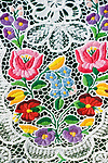 HUN, Ungarn, Budapest: Souvenirs, Tischdecke, Stickereien | HUN, Hungary, Budapest: souvenirs, table cloth, embroidery, stitchery