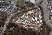 Frascatiplatz: EUROPA, DEUTSCHLAND, HAMBURG, BERGEDORF (EUROPE, GERMANY), 7.02.2016: Frascatiplatz