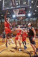 SAN ANTONIO, TX - JANUARY 16, 2016: The University of Texas at San Antonio Roadrunners defeat the University of Texas at El Paso Miners 71-67 at the UTSA Convocation Center. (Photo by Jeff Huehn)