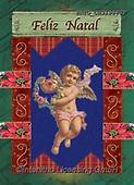 Alfredo, CHRISTMAS CHILDREN, WEIHNACHTEN KINDER, NAVIDAD NIÑOS, paintings+++++,BRTOCH31988CP,#xk# ,angel,angels