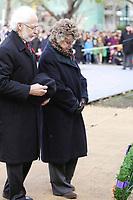 Ceremonie du souvenir, le 11 novembre 2012.<br /> <br /> PHOTOS :  Agence Quebec PresseNov 11, 2012 - Montreal, Quebec, CANADA -  Remembrance Day -  Pierre Duchesne, Lieutenant Governor of Quebec