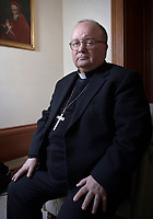 Monsignor Charles Scicluna archbishop of Malta and assistant secretary of the Congregation for the Doctrine of the Faith on February 26, 2019.
