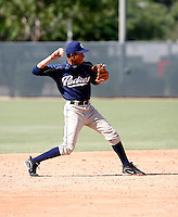 Jonathan Galvez / San Diego Padres 2008 Instructional League..Photo by:  Bill Mitchell/Four Seam Images