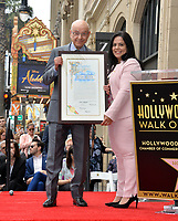 LOS ANGELES, CA. June 07, 2019: Alan Arkin & Rana Ghadban at the Hollywood Walk of Fame Star Ceremony honoring Alan Arkin.<br /> Pictures: Paul Smith/Featureflash