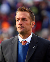 Real Salt Lake head coach Jason Kreis. The Chicago Fire and Real Salt Lake played to a 1-1 tie during a Major League Soccer match at Rice-Eccles Stadium in Salt Lake City, Utah on March 29, 2008.