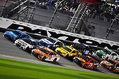 2017 NASCAR Monster Energy Cup - Can-Am Duels<br /> Daytona International Speedway, Daytona Beach, FL USA<br /> Thursday 23 February 2017<br /> Daniel Suarez, ARRIS Toyota Camry, Chris Buescher and Aric Almirola<br /> World Copyright: Nigel Kinrade/LAT Images<br /> ref: Digital Image 17DAY2nk07054