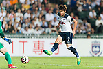 Tottenham Hotspur Forward Heung-Min Son in action during the Friendly match between Kitchee SC and Tottenham Hotspur FC at Hong Kong Stadium on May 26, 2017 in So Kon Po, Hong Kong. Photo by Man yuen Li  / Power Sport Images