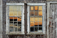 Coastal shanty detail, Menemsha, Chilmark, Martha's Vineyard, Massachusetts