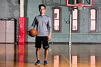 Jeffrey Zhang is a sophomore undergraduate student studying Mathematics and Computer Science at MIT seen in the Dupont Gym in the Zesiger Center on MIT's campus in Cambridge, Massachusetts, USA, on Sun., Apr. 9, 2017.