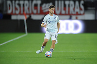 WASHINGTON, DC - MAY 13: Alvaro Medran #10 of Chicago Fire FC dribbles the ball during a game between Chicago Fire FC and D.C. United at Audi FIeld on May 13, 2021 in Washington, DC.