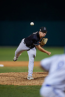 Jupiter Hammerheads relief pitcher Alejandro Mateo (17) during a Florida State League game against the Dunedin Blue Jays on May 15, 2019 at Jack Russell Memorial Stadium in Clearwater, Florida.  Dunedin defeated Jupiter 8-4 in nine innings, the second game of a doubleheader.  (Mike Janes/Four Seam Images)