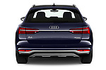 Straight rear view of 2021 Audi A6-Allroad Premium-Plus 5 Door Wagon Rear View  stock images