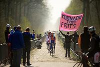 Paris-Roubaix 2012 recon..Team Rabobank