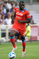 Kalidou Koulibalyof SSC Napoli in action during the Serie A 2021/2022 football match between ACF Fiorentina and SSC Napoli at Artemio Franchi stadium in Florence (Italy), October 3rd, 2021. Photo Andrea Staccioli / Insidefoto