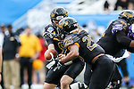 Southern Miss Golden Eagles running back Ito Smith (25) in action during the Zaxby's Heart of Dallas Bowl game between the Washington Huskies and the Southern Miss Golden Eagles at the Cotton Bowl Stadium in Dallas, Texas.