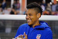 HOUSTON, TX - JANUARY 31: Adrianna Franch #12 of the United States during a game between Panama and USWNT at BBVA Stadium on January 31, 2020 in Houston, Texas.