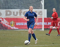 France U19 - Russia U19 : Charlotte Saint Sans Levacher.foto DAVID CATRY / Nikonpro.be