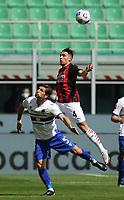 Milano 03-04-2021<br /> Stadio Giuseppe Meazza<br /> Serie A  Tim 2020/21<br /> Milan - Sampdoria<br /> Nella foto:  Ismael Bennacer                                    <br /> Antonio Saia Kines Milano