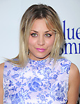 Kaley Cuoco  at The Sony Pictures Classics L.A. Premiere of Blue Jasmine held at The Academy of Motion Pictures Arts and Sciences in Beverly Hills, California on July 24,2013                                                                   Copyright 2013 Hollywood Press Agency