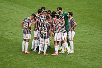Rio de Janeiro (RJ), 12/07/2020 - Fluminense-Flamengo - Partida entre Fluminense e Flamengo, válida pela final do Campeonato Carioca 2020, no Estádio Jornalista Mário Filho (Maracanã), na zona norte do Rio de Janeiro, neste domingo (12).