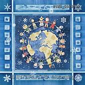 Isabella, CHRISTMAS CHILDREN, naive, paintings(ITKE502479,#XK#) Weihnachten, Navidad, illustrations, pinturas