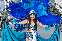 Sissy Lugo Lizardi, Miss Washington Latina, Kent International Festival, Kent, WA, USA.