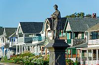 Cival War memorial, Oak Bluffs, Martha's Vineyard, Massachusetts, USA