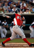 Kris Watts ---  At the annual California League-Carolina League all-star game at the Diamond in Lake Elsinore, CA - 06/23/2009. The game was won by the California League, 2-1, on a walk-off homerun by Lancaster's Jon Gaston..Photo by:  Bill Mitchell/Four Seam Images