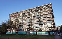 Nederland  Amsterdam-  2020.   Banne Buiksloot is een wijk in Amsterdam-Noord, die in de jaren 60 en jaren 70 van de 20e eeuw werd aangelegd tussen de Buiksloterdijk en de gemeente Landsmeer.   Foto : ANP/ HH / Berlinda van Dam