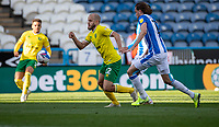 12th September 2020 The John Smiths Stadium, Huddersfield, Yorkshire, England; English Championship Football, Huddersfield Town versus Norwich City;  Teemu Pukki of Norwich City breaks forward on the ball