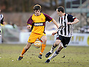07/02/2009  Copyright Pic: James Stewart.File Name : sct_jspa14_motherwell_v_stmirren.CILLIAN SHERIDAN MAKES HIS DEBUT.James Stewart Photo Agency 19 Carronlea Drive, Falkirk. FK2 8DN      Vat Reg No. 607 6932 25.Studio      : +44 (0)1324 611191 .Mobile      : +44 (0)7721 416997.E-mail  :  jim@jspa.co.uk.If you require further information then contact Jim Stewart on any of the numbers above.........