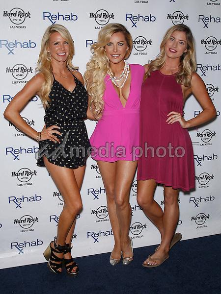 11 July 2015 - Las Vegas, Nevada - Amanda Vanderpool, Crystal Hefner, Carly Lauren.  Crystal Hefner at REHAB at the Hard Rock Hotel and Casino.  Photo Credit: MJT/AdMedia