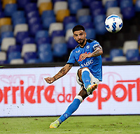26th September 2021; Maradona Stadium, Naples, Italy; Serie A football, Napoli versus Cagliari :  Lorenzo Insigne of Napoli crosses into the box