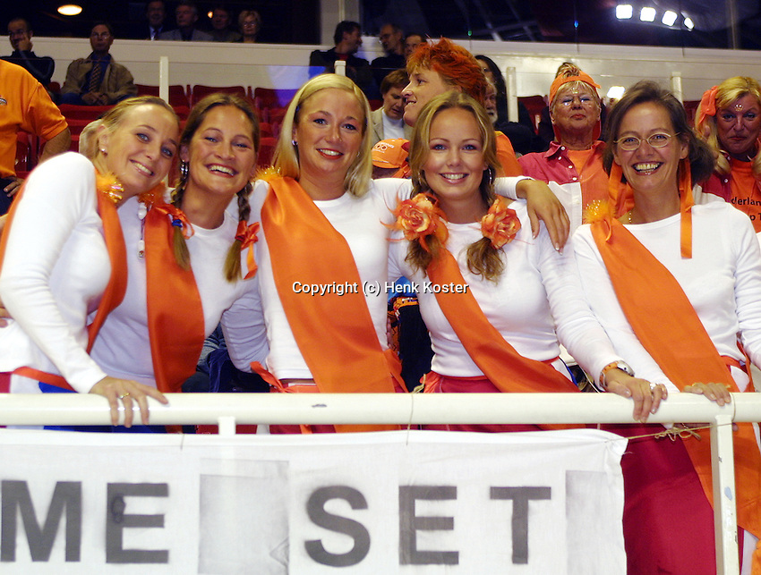 Girlfriends and wives of Dutch players