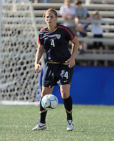 Cat Whitehill. The USA defeated Australia, 5-4, in an international friendly at Legion Field in Birmingham, Alabama on May 3, 2008.
