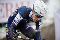 Lucie Chainel-Lefevre (FRA)<br /> <br /> Elite Women's Race<br /> <br /> 2015 UCI World Championships Cyclocross <br /> Tabor, Czech Republic
