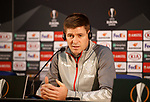 23.10.2019 Rangers press conference , Porto: Steven Gerrard