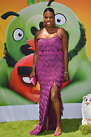 """LOS ANGELES, USA. August 10, 2019: Leslie Jones at the premiere of """"The Angry Birds Movie 2"""" at the Regency Village Theatre.<br /> Picture: Paul Smith/Featureflash"""