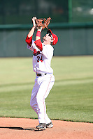 Wes Hatton#34 of the Orem Owlz during a game against the Billings Mustangs in a Pioneer League game at Brent Brown Ballpark on July 24, 2011 in Orem, Utah. (Bill Mitchell/Four Seam Images)