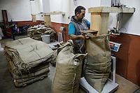 TURKEY Duzce, hazelnut processing plant of Karter Ltd. in Cumayeri  / TUERKEI, Duezce, Firma Karter Ltd. in Cumayeri, Haselnussverarbeitung und -handel, Haselnuss ist ein wichtiger Rohstoff fuer Schokocreme wie Nutella oder die Schokoladenindustrie