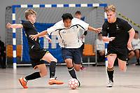 Vincent Phirun of Tauranga Boys College during the NZ Secondary Schools Senior Boys Final between Wellington College and Tauranga Boys' College at ASB Sports Centre, Wellington on 26 March 2021.<br /> Copyright photo: Masanori Udagawa /  www.photosport.nz