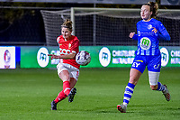 Standard defender Ellen Charlier (13) pictured during a female soccer game between  AA Gent Ladies and Standard Femina de Liege on the 8 th matchday of the 2020 - 2021 season of Belgian Scooore Womens Super League , friday 20 th of November 2020  in Oostakker , Belgium . PHOTO SPORTPIX.BE   SPP   STIJN AUDOOREN