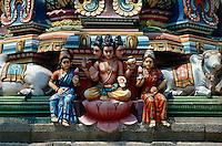 im Kapaleeshwarar Tempel, Madras, Tamil Nadu, Indien