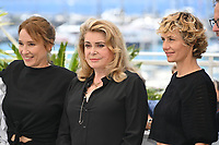 CANNES, FRANCE. July 11, 2021: Emmanuelle Bercot, Catherine Deneuve & Cecile de France at the photocall for Peaceful (De Son Vivant) at the 74th Festival de Cannes.<br /> Picture: Paul Smith / Featureflash