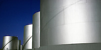 oil storage tanks<br />
